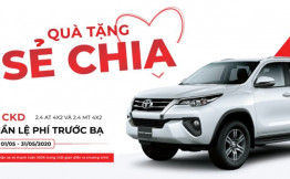 Hot ! Giảm 50% trước bạ cho các xe láp ráp trong nước, Khuyến mãi Ưu đãi mới nhất khi mua xe Toyota Fortuner, innova, vios… tại Toyota Hiroshima Tân Cảng.