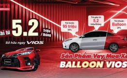 Sở hữu Toyota Vios 2021 cực dễ chỉ từ 5,2 triệu/tháng tại Toyota Tân Cảng. Ưu đãi mới nhất Toyota Vios 2021