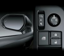 Gương chiếu hậu ngoài xe trang bị các công nghệ tiên tiến, cảnh báo người lái khi nằm trong vùng khuất