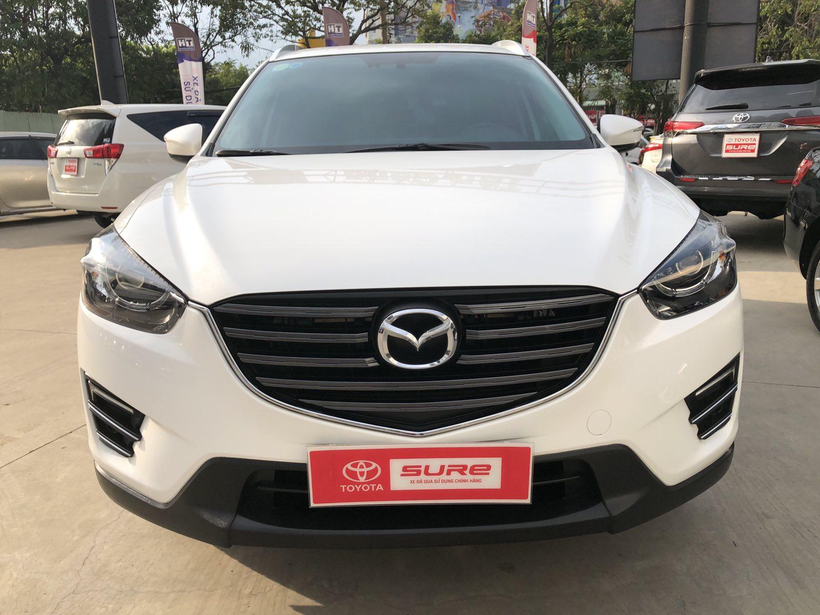 Mazda CX5 2.5 AT – 4×2 – 2017 -Màu Trắng
